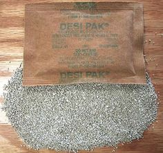 Clay Desiccant Single Pack
