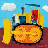 49.99 this might be the one!!!!!!!!!!Found it at Wayfair - Earthmover Canvas Art