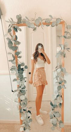 Trendy Summer Outfits, Cute Comfy Outfits, Girly Outfits, Pretty Outfits, Stylish Outfits, Outfits For School Summer, Simple Outfits, Teen Fashion Outfits, Outfits For Teens