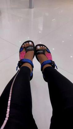 Cute Sandals, Shoes Sandals, Shoes Sneakers, Fresh Shoes, Hype Shoes, Sock Shoes, Shoe Game, Shoe Closet, Designer Shoes