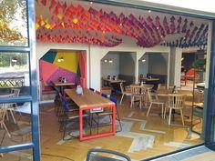 Coffee shop and informal meeting space design for FCB Africa by Design Partnership. Environmental Design, Interior Photography, Hospitality Design, Design Agency, Restaurant Design, Contemporary Design, Coffee Shop, South Africa, Architecture Design