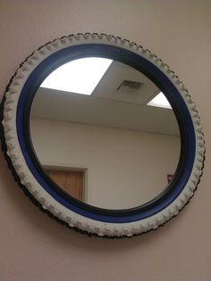 Bike Tire Mirror