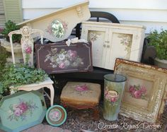 "Fall designs for the TVM ""Rustic Romance"" themed Show Sept.7th& 8th 2012 ~ C.Repasy"