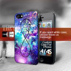Infinity Galaxy nebula Iphone 4 Case