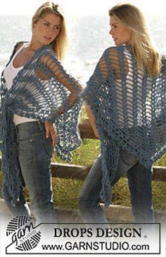Free shawl pattern, very nice, thanks so for sharin' xox