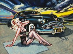 Lowbrow Black Magic Art Print by Artist Big Toe. Black Magic fine art print by artist Big Toe. Made by Lowbrow Art Company. Size: x cm x cm)& Made in the USA. Tribal Tattoos, Toe Tattoos, Tattoos Skull, Chicano, Pin Up Girl Tattoo, Sexy Pin Up Girls, Vintage Pin Ups, Desenho Tattoo, Garage Art