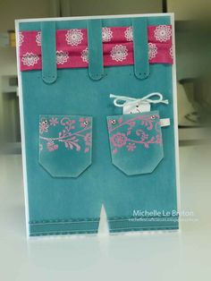 michelles card classes: One for the girls class