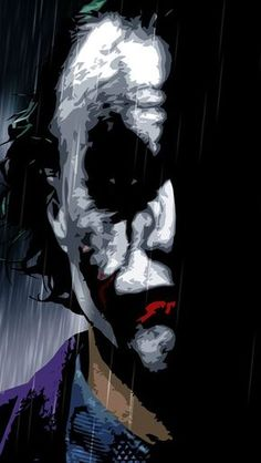 Why so serious. The Joker/Heath Le Joker Batman, Joker Heath, Joker Art, Joker And Harley Quinn, Joker Cartoon, Heath Ledger Joker Wallpaper, Batman Joker Wallpaper, Joker Wallpapers, Wallpapers Ipad