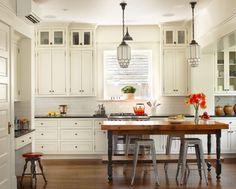 beuatiful white kitchen ombiaiinterijeri | All things nice