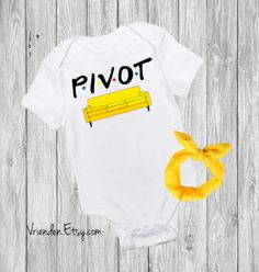 Pivot - F.R.I.E.N.D.S inspired baby bodysuit; joey doesn't share food, i'll be there for you, could i be any cuter; friends forever  Clothing Unisex Kids' Clothing Bodysuits unagi friends obsession best friends friends tv show central perk chandler bing smelly cat pivot crap bag princess consuela banana hammock no new friends baby shower idea funny onesie with headband