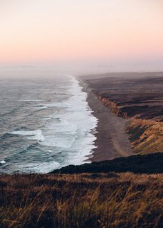 """""""Man cannot discover new oceans unless he has the courage to lose sight of the shore."""" - Point Reyes, CA"""