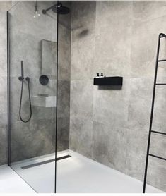 Cindy van der Heyden on Finally found the perfect bath shelf for our bathroom nichba_design Bathroom Layout, Modern Bathroom Design, Bathroom Interior Design, Bathroom Ideas, Bathroom Organization, Bathtub Ideas, Bathroom Storage, Bathroom Cabinets, Bathroom Mirrors