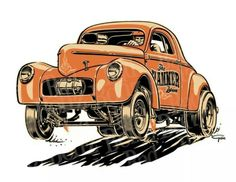 Rat Rods Cartoons Car Or Other Cars Rat Rods Rule