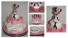 flower cake, cupcakes and cakepops