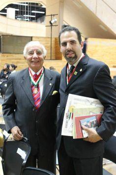 SMGE TIJUANA.- Ceremonia  Solemne de Celebración del 50 Aniversario de su Fundación. El Lic. Julio Zamora Bátiz y Lic. Enrique Moreno Kegel