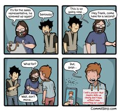 CommitStrip - Blog relating the daily life of web agencies developers | Our coder's life - Part 9