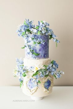 #8 Wedding Cake inspired by Enchanted Garden - Cake by Albena