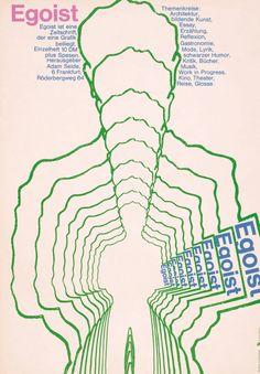 Egoist Back Cover -GUNTER RAMBOW  1967!