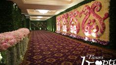 DECOR XXL A JAKARTA . 600 000 tiges de fleurs & de feuillages , l'équivalent de 2 avion cargo , une salle grande comme la pelouse du stade fe France…