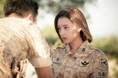 """""""Descendants of the Sun"""" Week 6 Official Stills Feat. A Loved Up Jin Goo & Kim Ji Won Seo Dae Young, Lee Joo Young, Come Back Mister, Song Joon Ki, Descendents Of The Sun, Korean Variety Shows, Moonlight Drawn By Clouds, Jin Goo, W Two Worlds"""