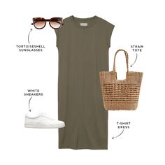 The Everymom's Budget-Friendly Summer 2020 Capsule Wardrobe Mom Outfits, Spring Outfits, Casual Outfits, Summer Outfits For Moms, Casual Attire, Outfit Summer, Diy Fashion, Fashion Outfits, Womens Fashion