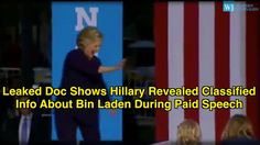 LEAKED DOC SHOWS HILLARY DESERVES 10 YEARS IN PRISON FOR DISCLOSING CLAS...