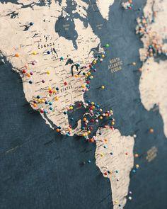 Large World Map Push Pin Executive Style Or Customized Pin Board Mounted On 3 16 Foam Board Modern Map Print Travel Map Large World Map Push Pin Executive Style Or Etsy World Map With Pins, Push Pin World Map, World Map Pin Board, Travel Map Pins, Travel Maps, Travel Logo, Travel Luggage, Executive Fashion, Executive Style