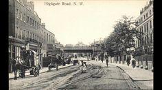 Highgate Road looking north towards Gordon house Road