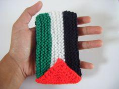 Palestine Phone Case Green White Black Red FREE SHIPPING by Namaz. £10.00, via Etsy.