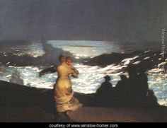 Summer Night - Winslow Homer - www.winslow-homer.com