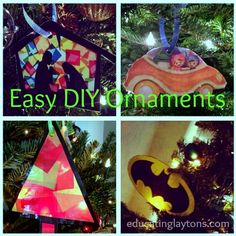 easy diy ornaments