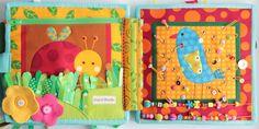 Handmade by mom: A new piece of Developmental book!