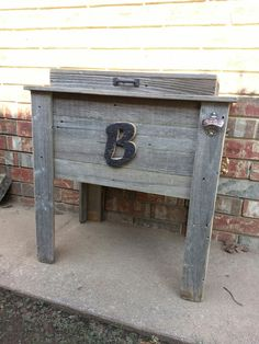 Rustic Cooler- wooden ice chest