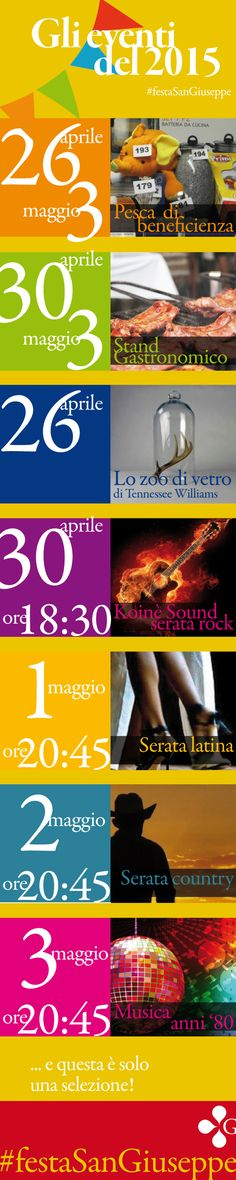 Ecco una selezione degli eventi della #festaSanGiuseppe di Vicenza. Quale è stato il tuo preferito? Faccelo sapere... così sappiamo cosa fare l'anno prossimo. https://www.facebook.com/profile.php?id=100009317781363