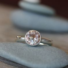 Oregon Sunstone Ring  Recycled Sterling Silver by onegarnetgirl, $248.00