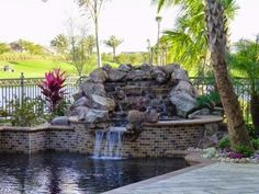 Custom Home Building Tips! : Pool Water Feature