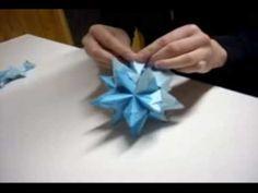 Como hacer una estrella de origami