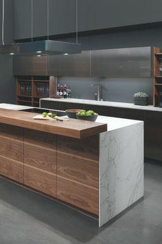 Kochinsel Kücheninsel M Kitchen Room Design, Kitchen Layout, Home Decor Kitchen, Interior Design Kitchen, Kitchen Ideas, Interior Modern, Apartment Kitchen, Kitchen Inspiration, Kitchen Designs