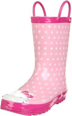 Western Chief Hello Kitty Polka Dotted Cutie Rain Boot (Toddler/Little Kid/Big Kid)
