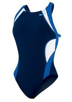 Nike  Team Splice  Modern Fast Back Tank  TESS0055 Navy Blue Size26 *** Click image for more details.