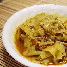 Methi Papad Nu Shaak Recipe | How to make Methi Papad Nu Shaak - Jain