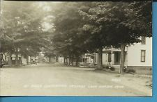 RPPC RADER CONFERENCE CAMP GROUNDS LAKE HARBOR MICHIGAN REAL PHOTO POSTCARD