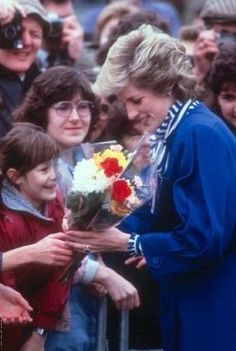 27 January 1986*Princess Diana arrives to open new*Maternity Wing*John Radcliffe Hospital*Oxford