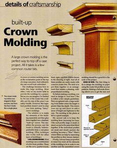 Making Crown Molding - Molding Construction