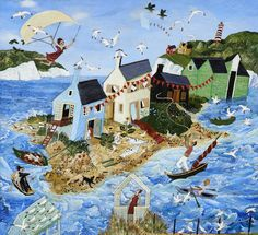 Hang gliding in Heels  by Anna Pugh, 2013