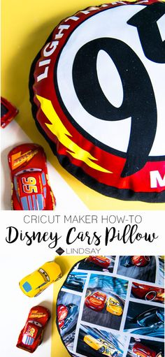 Disney DIY Cars Pillow using your Cricut Maker Disney Diy, Disney Crafts, Disney Ideas, Walt Disney, Easy Sewing Projects, Sewing Projects For Beginners, Sewing Hacks, Diy Baby Headbands, Felt Bunny