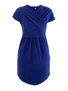 Technical twisted dress