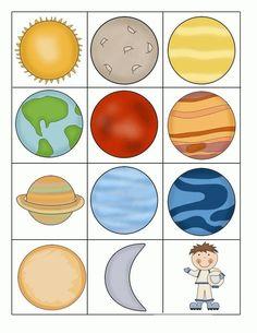 uzay_eşleştirme_kart on for kids Solar System Worksheets, Solar System Activities, Solar System For Kids, Solar System Projects, Planets Preschool, Preschool Art, Preschool Activities, Science Projects, School Projects