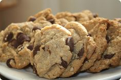 Secretly Healthy Chocolate Chip Cookies for Kids (beyond 2 or Fiber Foods For Kids, Fiber Rich Foods, High Fiber Foods, High Fiber Toddler Foods, High Fiber Recipes, Fiber For Kids, High Fiber Snacks, Healthy Chocolate Chip Cookies, Healthy Cookies