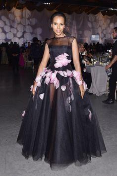 Kerry Washington in Giambattista Valli at Baby2Baby Gala | POPSUGAR Fashion
